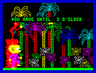 Gregory Loses His Clock ZX Spectrum 20