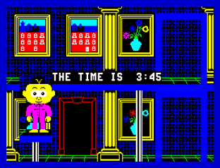 Gregory Loses His Clock ZX Spectrum 45