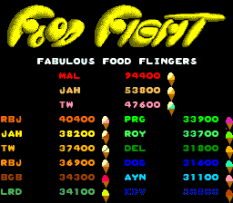 Food Fight Arcade 55