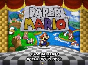 Paper Mario N64 001