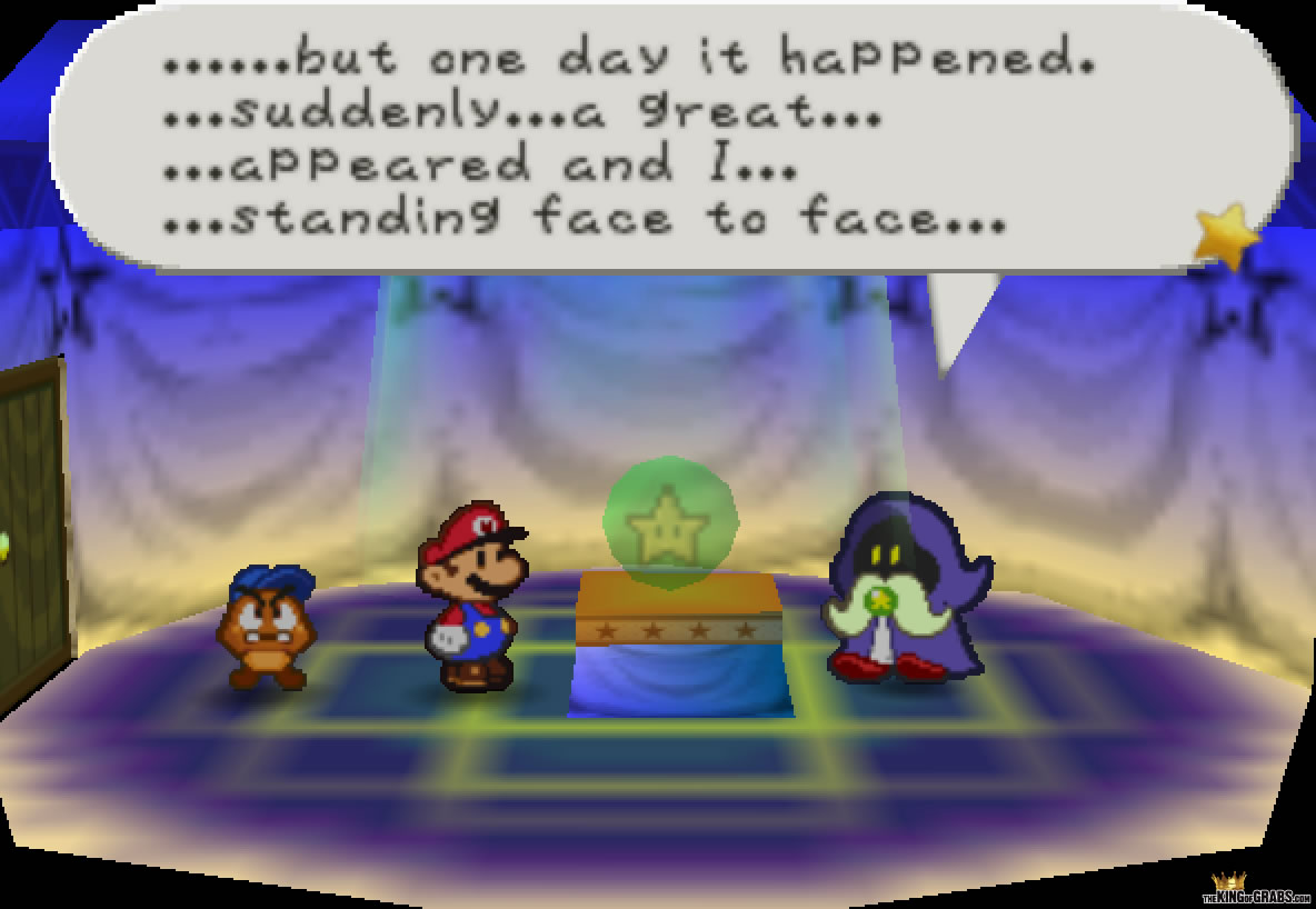 Paper Mario N64 068 – The King of Grabs