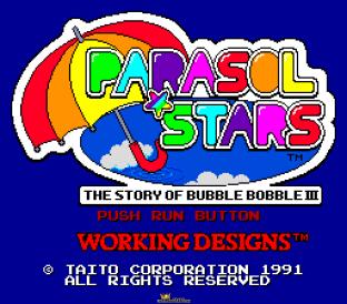 Parasol Stars PC Engine 001