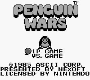 Penguin Wars Game Boy 01