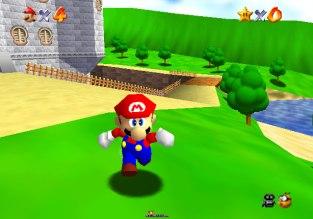 Super Mario 64 N64 009