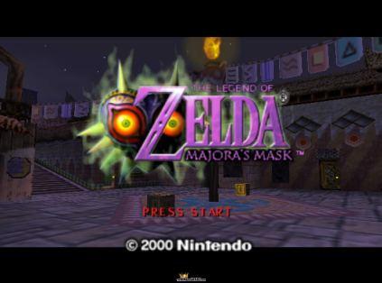 The Legend of Zelda - Majora's Mask N64 001