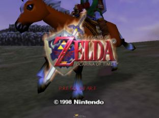 The Legend of Zelda - Ocarina of Time N64 001