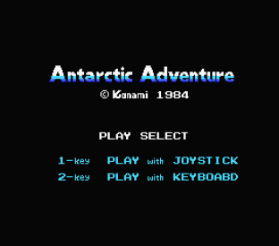 Antarctic Adventure MSX 01