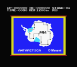 Antarctic Adventure MSX 02
