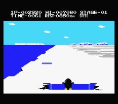 Antarctic Adventure MSX 10