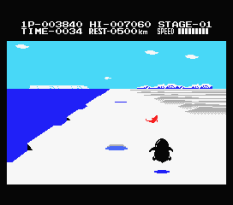 Antarctic Adventure MSX 11