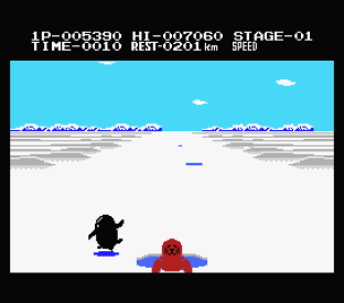Antarctic Adventure MSX 12