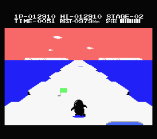 Antarctic Adventure MSX 20