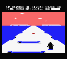 Antarctic Adventure MSX 21
