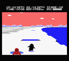 Antarctic Adventure MSX 22