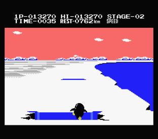 Antarctic Adventure MSX 23