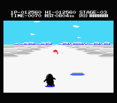 Antarctic Adventure MSX 32