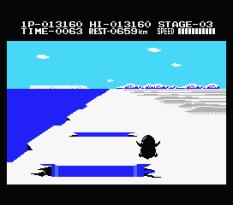Antarctic Adventure MSX 33