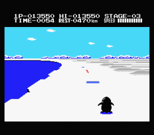 Antarctic Adventure MSX 34