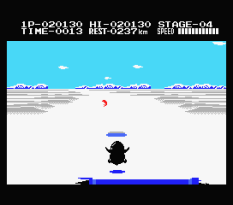 Antarctic Adventure MSX 43