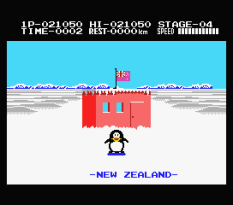 Antarctic Adventure MSX 44
