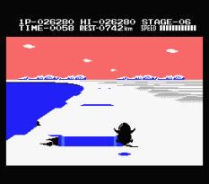 Antarctic Adventure MSX 54