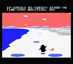 Antarctic Adventure MSX 55