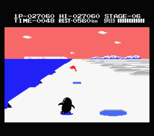 Antarctic Adventure MSX 56