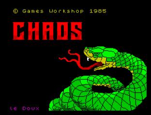 Chaos ZX Spectrum 01