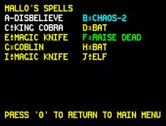 Chaos ZX Spectrum 32