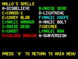 Chaos ZX Spectrum 40