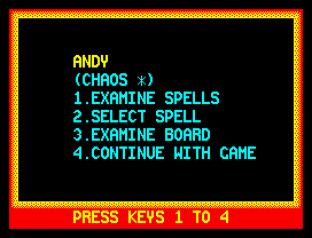 Chaos ZX Spectrum 42
