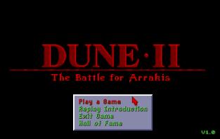 Dune 2 - The Battle For Arrakis Amiga 01