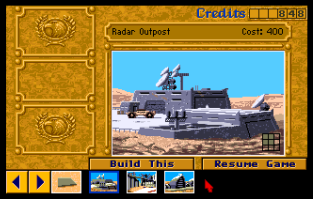 Dune 2 - The Battle For Arrakis Amiga 23