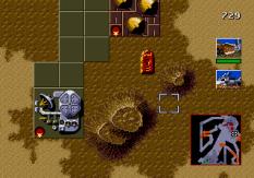Dune - The Battle for Arrakis Megadrive 55