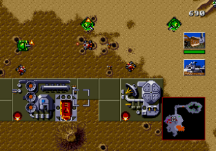 Dune - The Battle for Arrakis Megadrive 64