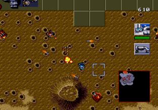 Dune - The Battle for Arrakis Megadrive 86