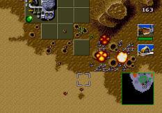 Dune - The Battle for Arrakis Megadrive 99