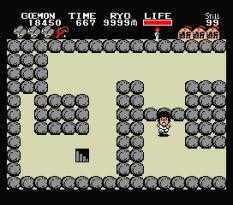 Ganbare Goemon MSX 054