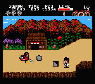 Ganbare Goemon MSX 064