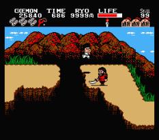 Ganbare Goemon MSX 065