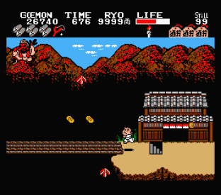 Ganbare Goemon MSX 067