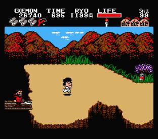 Ganbare Goemon MSX 075