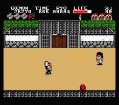 Ganbare Goemon MSX 087
