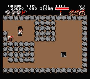 Ganbare Goemon MSX 089