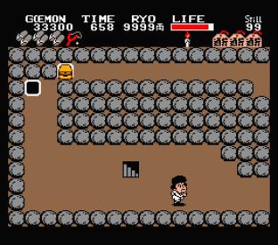 Ganbare Goemon MSX 097
