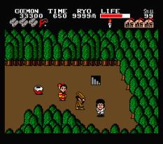 Ganbare Goemon MSX 098