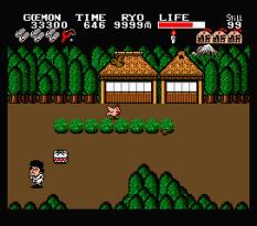 Ganbare Goemon MSX 099