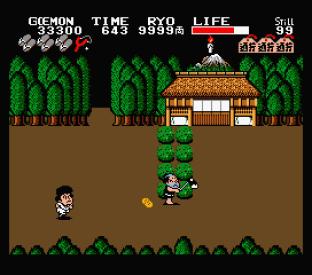 Ganbare Goemon MSX 100