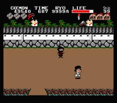 Ganbare Goemon MSX 121
