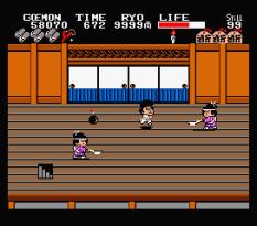 Ganbare Goemon MSX 142